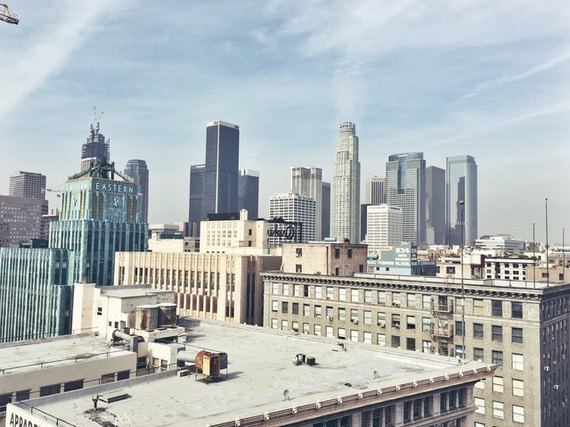 Los Angeles, one of the best West Coast cities for starting a small business.