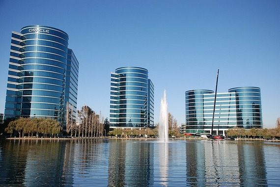 The buildings of Oracle in Silicon Valley, San Francisco