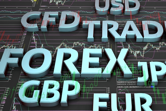 Trading in currencies on forex