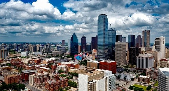 The city of Dallas, Texas, representing profitable small business ideas to start in Texas.