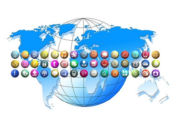Online marketing can take you worldwide