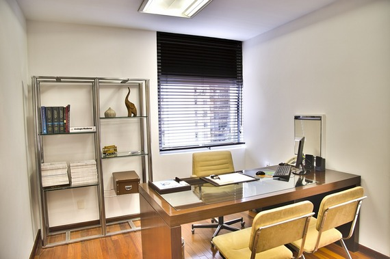 Neat and tidy business office